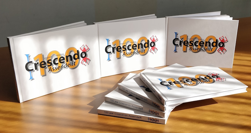 Jubileumboek Crescendo 100 jaar
